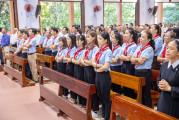 Tin ảnh: Gx. Hữu Phước: Mừng lễ Chúa Thánh Thần Hiện Xuống - Bổn mạng Giáo lý viên giáo xứ