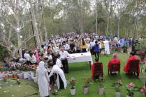 Tin ảnh: Gx. Văn Côi: Nghi thức kết thúc Tháng Hoa và thánh lễ mừng kính Chúa Thánh Thần hiện xuống tại đồi Đức Mẹ