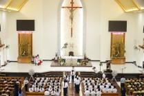 Tin Ảnh: Gx. Láng Cát: Thánh lễ ban Bí tích Thánh Thể lần đầu