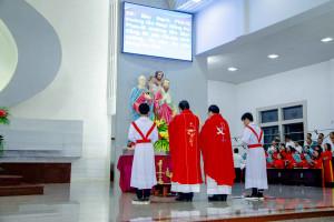 Gx. Vinh Châu: Mừng lễ Bổn mạng Cha Chánh xứ và Ban hành giáo