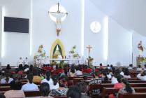 Đền Thánh Đức Mẹ Bãi Dâu: Thánh lễ tôn kính Đức Mẹ Fatima- Ngày 13.6.2020