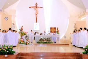 Tin Ảnh: Gx. Hải Sơn: Thánh lễ khai mạc Năm Thánh mừng Kim Khánh thành lập giáo xứ