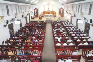 Tin Ảnh: Gx. Thiện Phước: Ban hành giáo giáo xứ mừng lễ bổn mạng