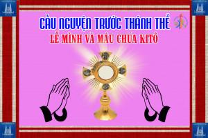 Cầu nguyện trước Thánh Thể- Ngày 14.06.2020 – Lễ Mình Máu Thánh Chúa Kitô – Ga 6,51-59