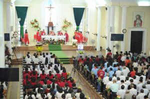 Gx. Vũng Tàu: Thánh lễ bế mạc Năm Thánh kỷ niệm 130 năm thành lập giáo xứ