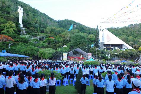 Đền Thánh Đức Mẹ Bãi Dâu: Giáo lý viên Giáo phận họp mặt mừng lễ Chân phước Anrê Phú Yên – 26.7.2020