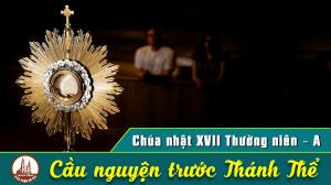 Cầu nguyện trước Thánh Thể- Ngày 26.07.2020 – Chúa nhật XVII Thường niên – Mt 13,44-52