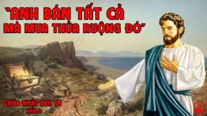 CÁC BÀI SUY NIỆM LỜI CHÚA CHÚA NHẬT XVII THƯỜNG NIÊN- A