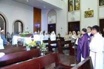 Gx. Chánh Tòa: Thánh lễ an táng Bà cố Maria Dương Thị Sen