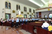 Gx. Chánh Tòa: Mừng lễ Chân phước Anrê Phú Yên- Bổn mạng Giáo lý viên