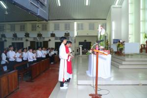 Tin Ảnh: Gx. Đức Mỹ: Mừng lễ kính Thánh Giacôbê tông đồ- Bổn mạng Giới trẻ