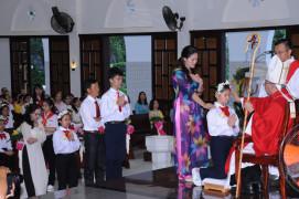 Gx. Long Toàn: Thánh lễ ban Bí tích Thêm Sức