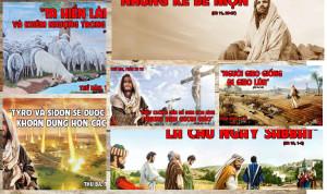 Hình minh họa Lời Chúa TUẦN XV THƯỜNG NIÊN – NĂM A