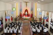 Tin Ảnh: Gx. Phước Tỉnh: Thánh lễ ban Bí tích Thêm Sức- Ngày 10.07.2020