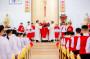 Tin Ảnh: Gx. Phước Chí: Thánh lễ ban Bí tích Thêm Sức cho 72 em thiếu nhi