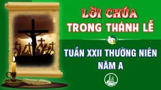 BẢN VĂN BÀI ĐỌC TRONG THÁNH LỄ TUẦN XXII THƯỜNG NIÊN – NĂM A