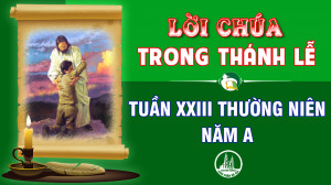 BẢN VĂN BÀI ĐỌC TRONG THÁNH LỄ TUẦN XXIII THƯỜNG NIÊN – NĂM A