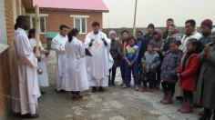 ĐTC tiếp kiến riêng Phủ doãn Tông Tòa Ulanbator, Mông Cổ