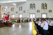 Gx. Chánh Toà Bà Rịa: Thánh lễ ban Bí tích Thêm sức