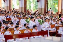 Tin Ảnh: Gx. Hữu Phước: Thánh lễ ban Bí tích Thánh Thể lần đầu - Ngày 20.9.2020