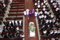 Gx. Vinh Trung: Thánh lễ an táng Ông cố Phêrô Trần Đình Hoàn