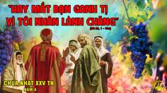 CÁC BÀI SUY NIỆM LỜI CHÚA CHÚA NHẬT XXV THƯỜNG NIÊN- A
