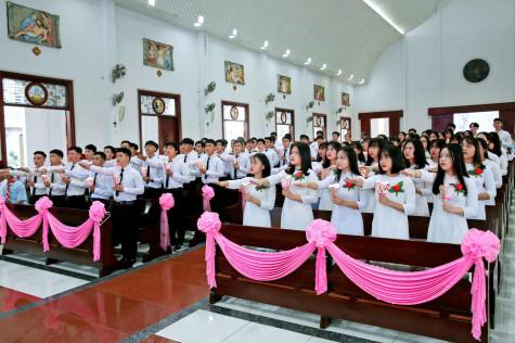 Tin Ảnh: Gx. Vinh Châu: Thánh lễ Tuyên hứa Bao Đồng