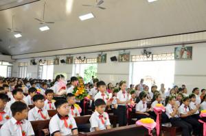 Gx. Hòa Phước: Thánh lễ ban Bí tích Thánh Thể lần đầu cho 52 em thiếu nhi
