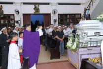 Tin Ảnh: Gx. Vinh Hà: Thánh lễ an táng ông Cố Giuse Nguyễn Trường Cửu