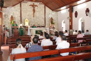 Nhà thờ Mồ Bà Rịa: Thánh lễ tạ ơn kỷ niệm 01 năm thành lập cộng đoàn dâng lễ Tiếng Anh tại Bà Rịa