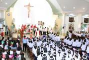 Tin Ảnh: Gx. Hải Sơn: Thánh lễ ban Bí tích Thêm Sức- Ngày 19.9.2020