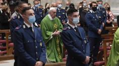ĐTC cử hành lễ bổn mạng đội Hiến Binh Vatican