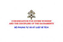 Bộ Phụng tự và Kỷ luật các Bí tích: Hãy vui mừng trở lại với Thánh lễ