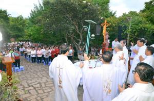Núi Chúa Tao Phùng: Hành hương ngày Thứ Sáu đầu tháng 10.2020