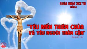 CÁC BÀI SUY NIỆM LỜI CHÚA CHÚA NHẬT XXX THƯỜNG NIÊN- A