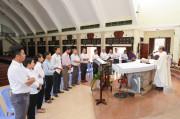 Tin Ảnh: Thánh lễ mừng kính Tổng lãnh Thiên thần Gabriel – Bổn mạng Ban Truyền thông Hạt Xuyên Mộc