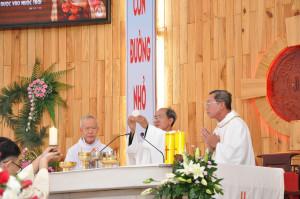 Tin ảnh: Gx. Hòa Tân: Mừng lễ Bổn mạng giáo xứ và kỷ niệm15 năm Linh mục của Cha Chánh xứ