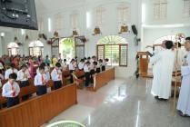 Tin Ảnh: Gx. Thanh An: Thánh lễ ban Bí tích Thêm Sức- Ngày 04.10.2020
