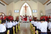 Tin Ảnh: Gx. Phước Hải: Thánh lễ ban Bí tích Thêm sức- Ngày 11.10.2020
