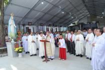 Gx. Đông Hải: Thánh lễ tạ ơn làm phép Nhà Mục Vụ và Nhà Xứ mới