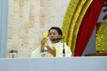 Gx. Lam Sơn: Thánh lễ tạ ơn kỷ niệm 15 năm Linh Mục của Cha Chánh xứ