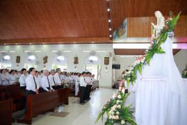 Tin Ảnh: Huynh Đoàn Đaminh Bà Rịa mừng lễ Bổn mạng kính Đức Mẹ Mân Côi