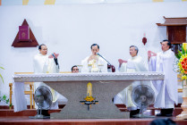 Gx. Kim Long: Thánh lễ Thánh Giáo hoàng Gioan Phaolô II Bổn mạng Ban Truyền thông Hạt Bình Giã