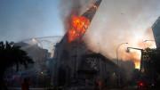 Các giám mục Tây Ban Nha và châu Mỹ Latinh liên đới với Giáo hội Chile khi các nhà thờ bị đốt