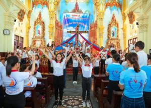 Giáo xứ - Môi trường giáo dục thiêng liêng và nhân cách cho các bạn trẻ