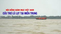 VIDEO: Đại diện Hội đồng Giám mục Việt Nam cứu trợ lũ lụt miền Trung 2020
