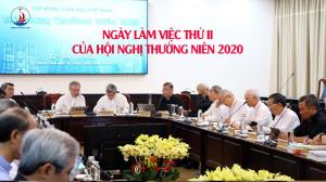 VIDEO: Ngày làm việc thứ II - Hội nghị thường niên 2020 của HĐGMVN