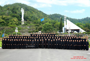 GP. Bà Rịa: Linh mục đoàn Giáo phận tĩnh tâm năm 2020
