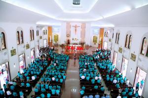 GP. Bà Rịa: Caritas Giáo phận họp mặt mừng lễ Bổn mạng