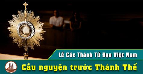 Cầu nguyện trước Thánh Thể- Ngày 15.11.2020 – Lễ Các Thánh Tử Đạo Việt Nam – Mt 10,17-22
